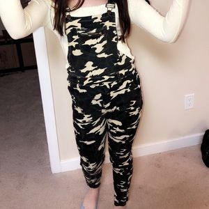 Camouflage Overalls (lightly worn)